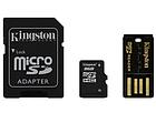 [ОПТ] Карта памяти micro SD Kingston 8GB Class 4 c адаптером, фото 4