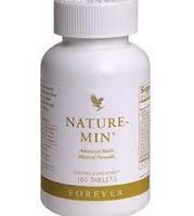Натуральные минералы в хелатной форме, Nature-Min, 180 таблеток