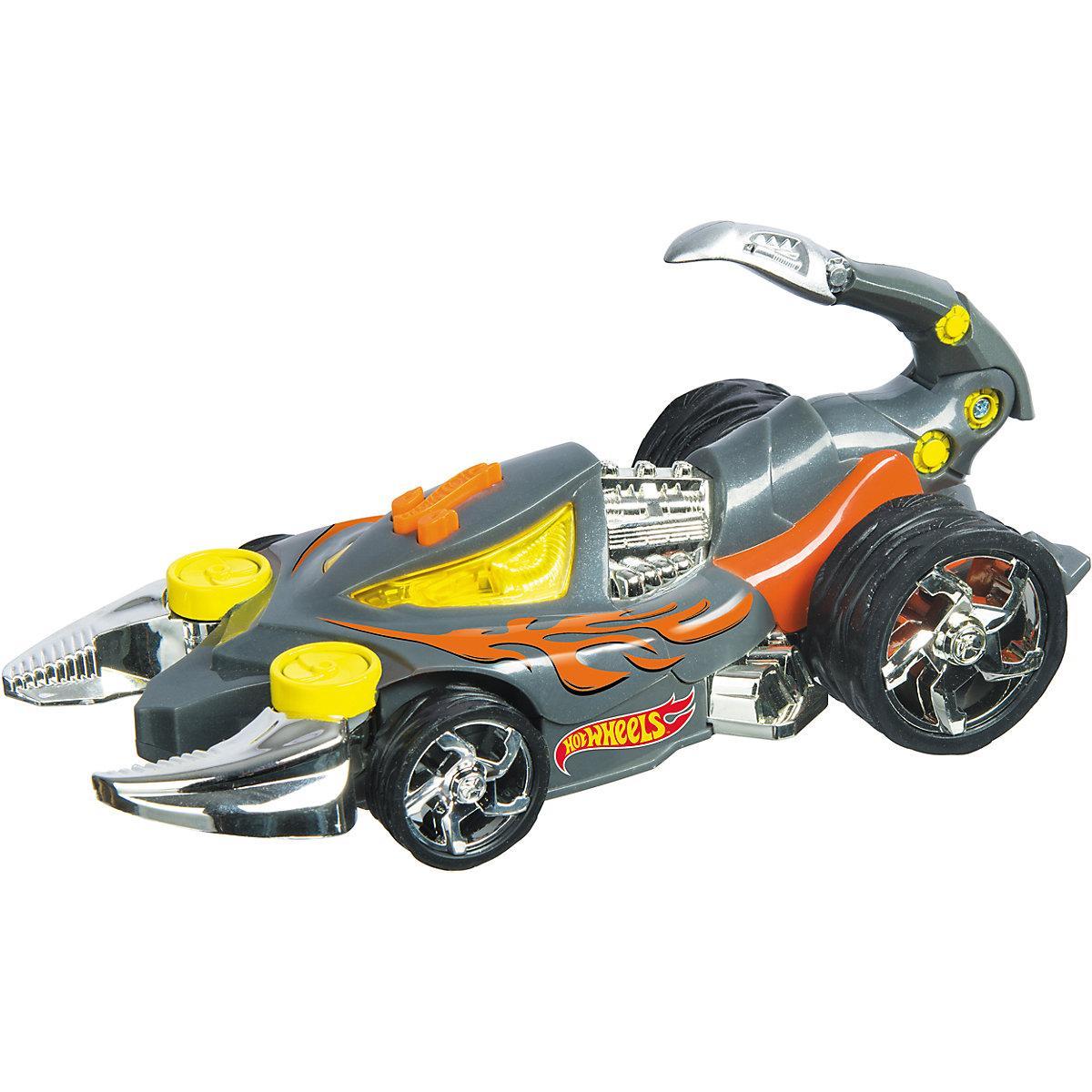 Машина Хот Вилс Hot Wheels скорпион горячие колеса свет и звук 23 см Monster Action - Scorpedo 90512