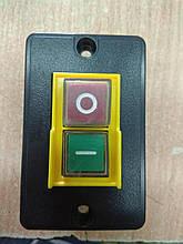 Кнопка двойная с корпусом к бетономешалке 6А