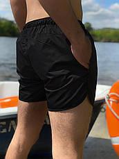Купальні пляжні Шорти Intruder чорні розмір S(46) M(48) L (50) XL(52) XXL (54), фото 2