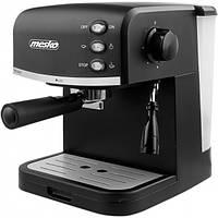 Кавоварка еспресо MESKO MS 4409 black 15 Bar кофеварка, фото 1