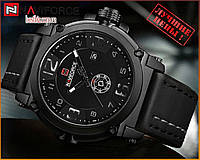 Оригинальные Мужские Наручные часы Naviforce NF9099 Black-White