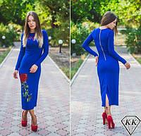 Платье электрик 152032