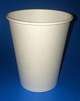 Стаканы бумажные 340мл белые