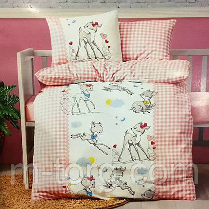 Дитяче постільна білизна в ліжечко бавовна 100 % Туреччина, фото 2