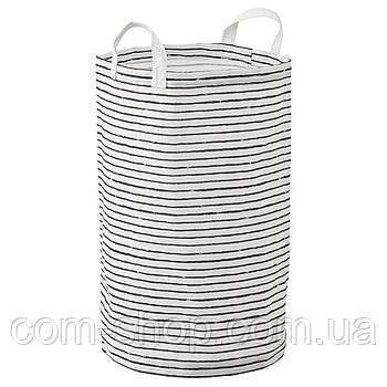 Мешок для белья IKEA тканевый, корзина для хранения, 60 л