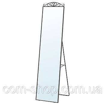 IKEA Зеркало напольное, черный, 40x167 см