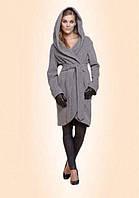 П484 Пальто с капюшоном
