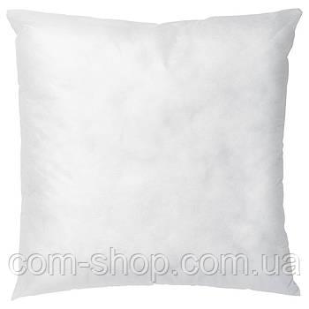 Подушка IKEA мебельная, для мебели, 50x50 см, белый