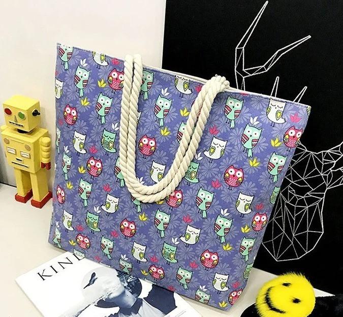 Женская пляжная сумка с канатными ручками BR-S (1188220310)