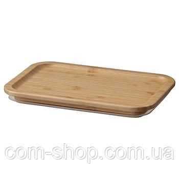 IKEA Крышка, прямоугольн формы, бамбук