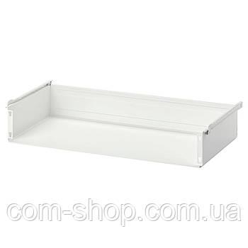 IKEA Ящик без фронтальной панели, белый, 60x55 см