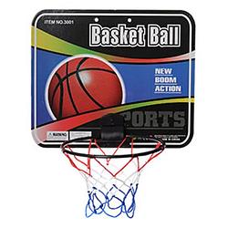 """Детский игровой набор """"Баскетбольное кольцо"""" M 2690-1/2 c квадратным щитом и сеткой"""