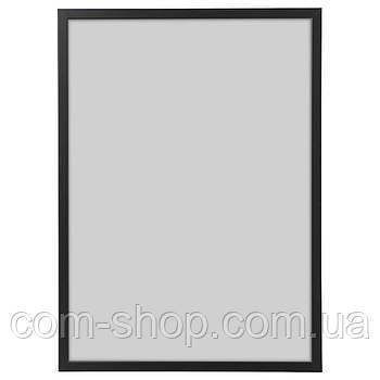 Рама, рамка для картин IKEA, деревянная, 50x70 см, черный