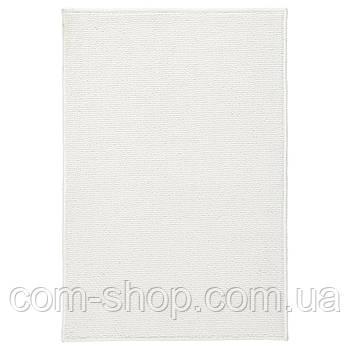 Коврик для ванной и туалета IKEA, 40x60 см, белый