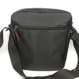 Шкіряна чоловіча сумка через плече / Мужская кожаная сумка через плечо, фото 6