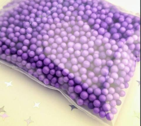 Фиолетовые шарики для слаймов (50529), фото 2