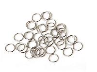 Пирсинг для волос кольца серебро 12 мм
