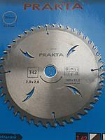 Пила дисковая по дереву prakta 180*22,2 на 48 зубов