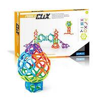 Конструктор магнитный развивающий для детей Guidecraft PowerClix Organics, 100 деталей