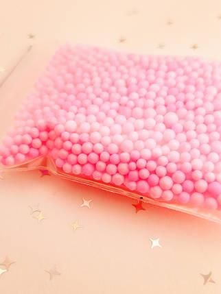 Розовые шарики для слаймов (50527), фото 2