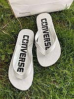 Шлепки Converse Basic White