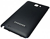 Samsung Galaxy Note N7000 Задняя крышка  корпуса черный