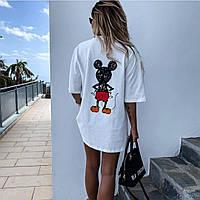 Женская футболка с Микки Маусом mod104-4246