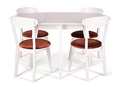Обеденный комплект/ стол MARS + стулья HELENA белый