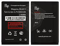 Батарея (акб, аккумулятор) для Fly DS104D, DS105, DS107D, TS90, TS91 - BL6411 (800 mah), оригинал