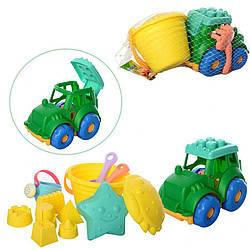 Детский набор формочек для песочницы Hongyuansheng. Яркий и красочный игровой набор для детей от 3 лет