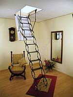 Чердачная лестница FAKRO LST (ФАКРО ЛСТ) металлическая