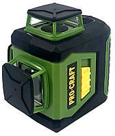 Профессиональный лазерный уровень ProCraft Germany (LE-3G)