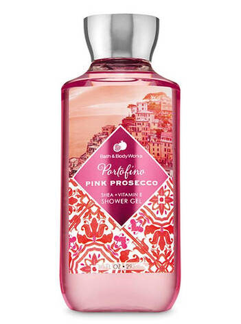 Гель для душа Bath&Body Works Portofino Pink Prosecco Shower Gel 295 мл, фото 2