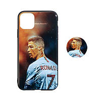 Чехол TPU Print with Popsocket for Apple Iphone 11 Pro Max