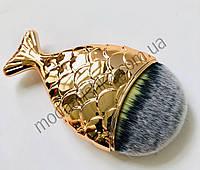 Щетка-сметка для удаления пыли Рыбка золото