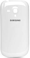 Samsung Galaxy S3 mini i8190 Задняя крышка корпуса белый, фото 1