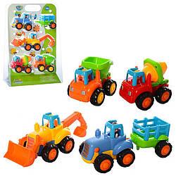Детский набор пластиковых машинок Limo Toy