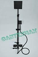 Душевая колонна из нержавеющей стали Mixxus KUB 009 J Black