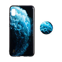 Чехол TPU Print with Popsocket for Samsung A10
