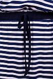 Лоренс. Трикотажный сарафан большого размера. Полоска., фото 7