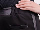 Світлана. Жіночі повсякденні штани великих розмірів. Чорний., фото 4