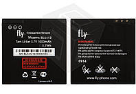 Батарея (акб, аккумулятор) BL6412 для Fly E158, IQ434 (1000 mah) оригинал