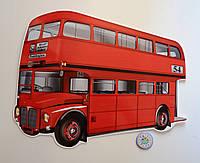 Автобус Англия. Настенная декорация 80х64 см