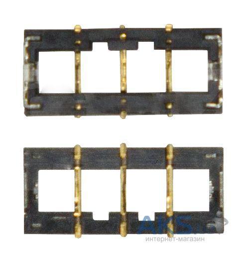 (Коннектор) Контакты батареи Apple iPhone 5S