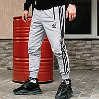 Спортивные штаны в стиле Adidas Originals серые