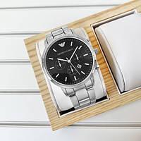 Emporio Armani Silver-Black