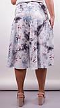 Лолита. Оригинальные шорты-юбка больших размеров. Цветок., фото 4