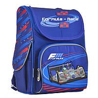 Рюкзак школьный YES каркасный H-11 Formula-race (555142), фото 1